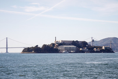 Alcatraz from the ferry.