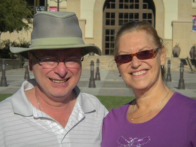The happy travelers in Temecula.