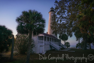 St. Marks Lighthouse at Dawn