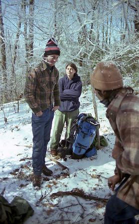 Winter Hiking Trip - Joyce Kilmer Area 3-12-1983