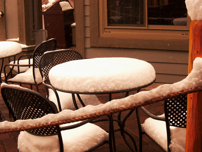 This is reflective of a typical night's snowfall