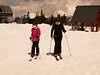 Mum and daughter ready to attack the slopes