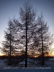 Auringonlasku - Sunset