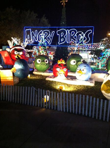 Angry Christmas Birds
