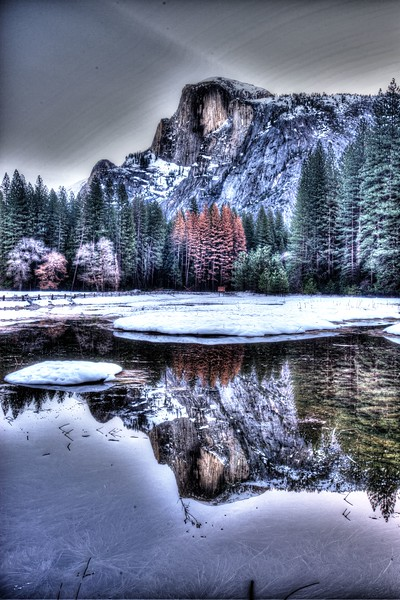 While I was doing HDR. . .  Yosemite