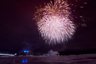 Fireworks Finland 100 years