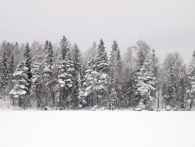 Pyhäjärvi, Nokia. Lumi. SnowLumi
