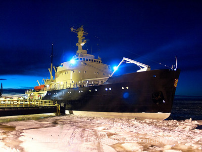 Sampo Icebreaker at Ajos Harbour, Kemi, Finland