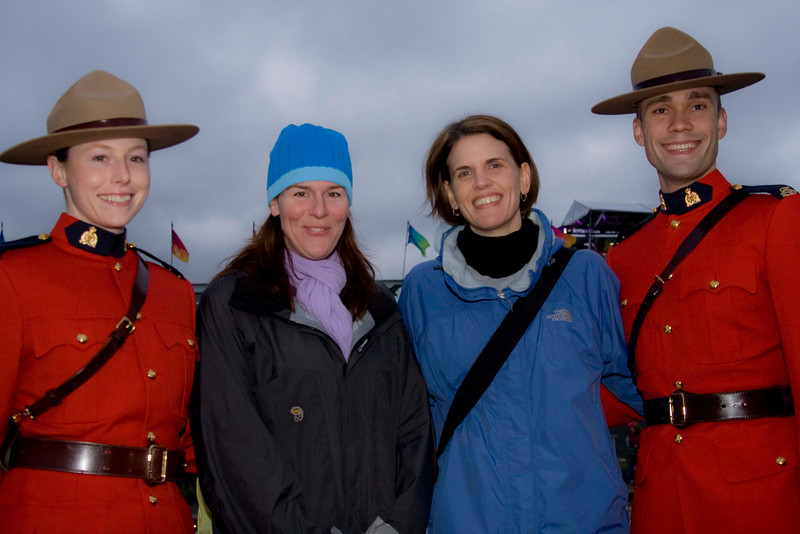 Royal Canadian Mounties, Katey & Kim.