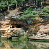 Sandstone Cliffs at Dells