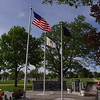 Lanark, Il - Veterans Memorial in the town cemetery