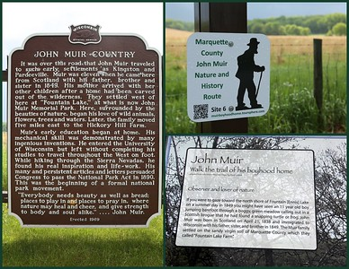 Get ready to walk - you are in John Muir Country