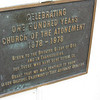 In 1978 the Church of the Atonement celebrated its first One Hundred Years.