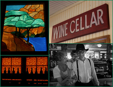 Hand selected wines and custom made stained glass projects around the world are some of the varied talents of Jean & Donaldo Thompson - a Renaissance couple.