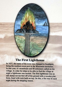 The First Lighthouse