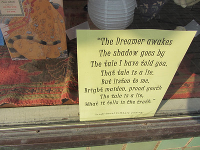 A traditional folktale ending in the window.