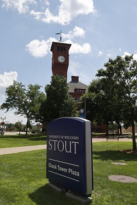 UW Stout Clock Tower Plaza