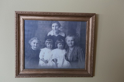 Family History Framed on the wall of the Madison Cottage