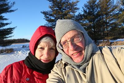 Sarah & Kent sunshine selfie
