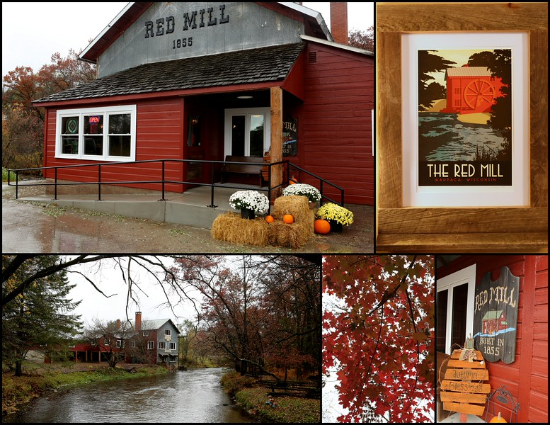 Red Mill circa 1855 now with a Gift Shop & event hosting & family restaurant