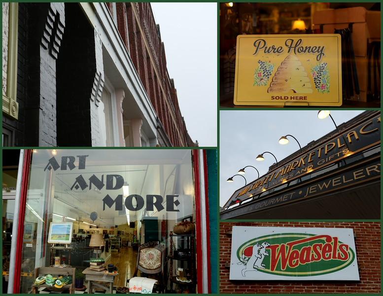 Main Street Waupaca Collage