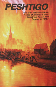 The most disastrous forest fire in American history claimed 800 lives on October 8th, 1871.