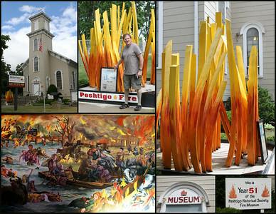 Peshtigo Fire Museum, 400 Oconto Ave., Peshtigo, WI 54157, 715-582-3244