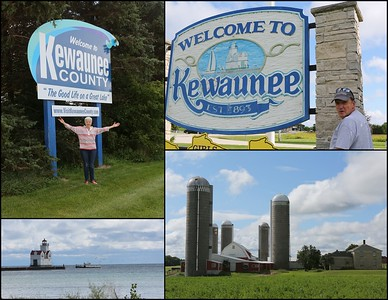 "Welcome to Kewaunee County -""The Good Life on a Great Lake"""