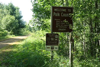 Yes, you can bike to Polk County.