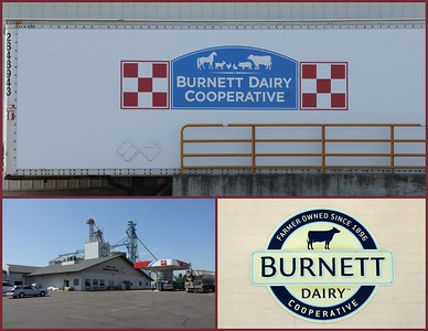 A refreshing stop on the byways - Burnett Dairy Cooperative.