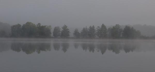 Misty Morning Mirror