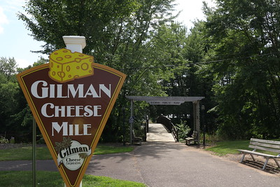 Next stop on the journey Taylor County - Gilman City Park & the Gilman Cheese MIle