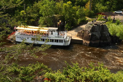 A step back in time on the Riverboat Taylor Falls Princess