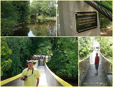 Gilman's Swinging Bridge, ca 1914-15