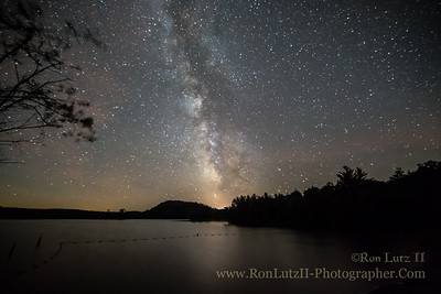 The Milky Way Over Loon Lake