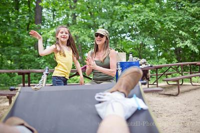 Wyalusing State Park Camping - 2014