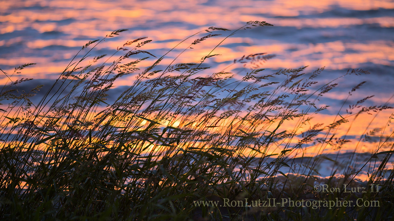 Sunset over Tennison Bay