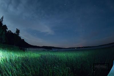 Birch Lake, Wisconsin Star Photography