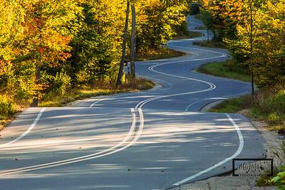 WIndy Road in Door County