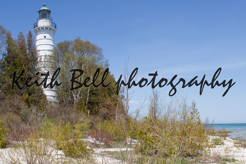 Cana Island Lighthouse Beach View