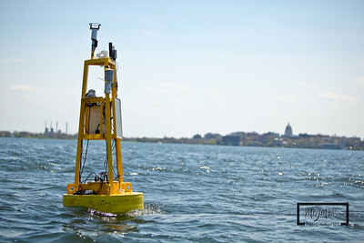 Lake Mendota Weather Station Buoy   © Copyright m2 Photography - Michael J. Mikkelson 2009. All Rights Reserved. Images can not be used without permission.
