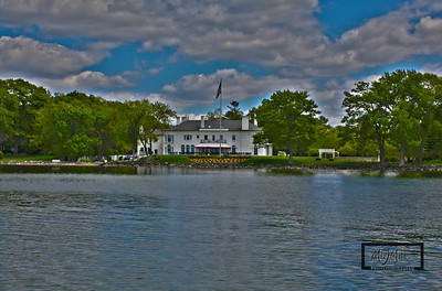 HDR image of the Governor's Mansion on Lake Mendota, processed with Adobe CS5 HDR Pro.  © Copyright m2 Photography - Michael J. Mikkelson 2009. All Rights Reserved. Images can not be used without permission.