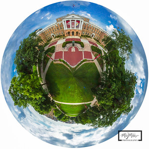 Bascom Hall Spherical Panoramic @ UW Madison© Copyright m2 Photography - Michael J. Mikkelson 2013. All Rights Reserved. Images and/or video can not be used without permission.