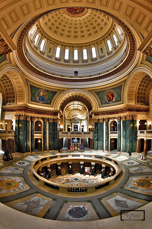 Inside the Dome  © Copyright m2 Photography - Michael J. Mikkelson 2009. All Rights Reserved. Images can not be used without permission.