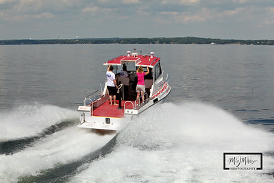 Rescue 62 on Lake Mendota © Copyright m2 Photography - Michael J. Mikkelson 2009. All Rights Reserved. Images can not be used without permission.