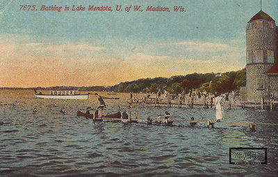 Swimming Pier on Lake Mendota.