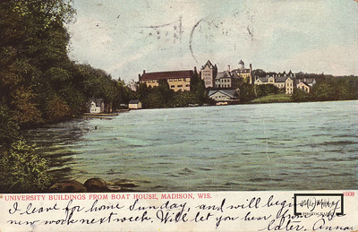 Another postcard of the University Shoreline