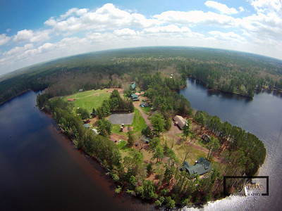 Got the entire camp peninsula on this shot.  YMCA Camp Jorn 2011 Spring Work Weekend Aerial Images captured by lofting a camera into the air with a kite© Copyright m2 Photography - Michael J. Mikkelson 2009. All Rights Reserved. Images can not be used without permission.
