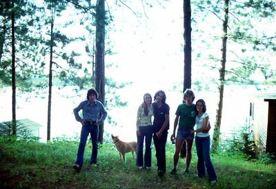 Shep, Cindy, Gene, Shawn, Debbie (ca 1976)
