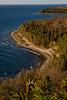Sven's Bluff Lookout at Peninsula State Park , Door County Wisconsin